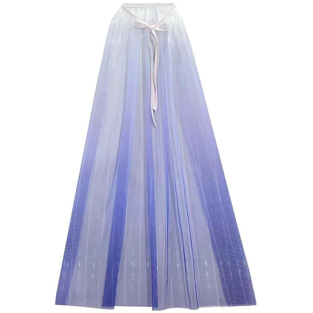 Новый 2020 «Анна», «Эльза» платье для девочек «Холодное сердце» 2 на Рождество и Хеллоуин; День рождения белое платье принцессы с накидкой брюки Косплэй queen набор