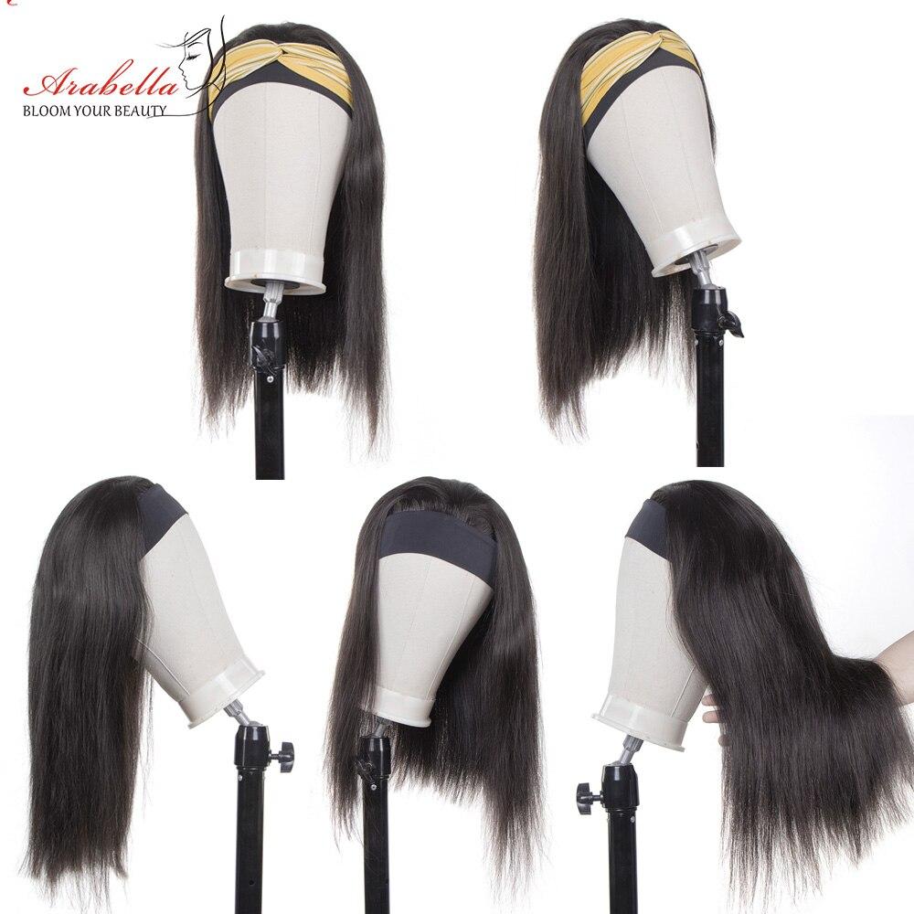 Headband Wig   Straight U Part Wig    Arabella Glueless Wig Headband Machine Wig 3