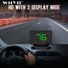 A5 Universal Car GPS HUD Head Up Display  Speedometer Digital Over Speed Alert Windshield  Auto Navigation Diagnostic Tool