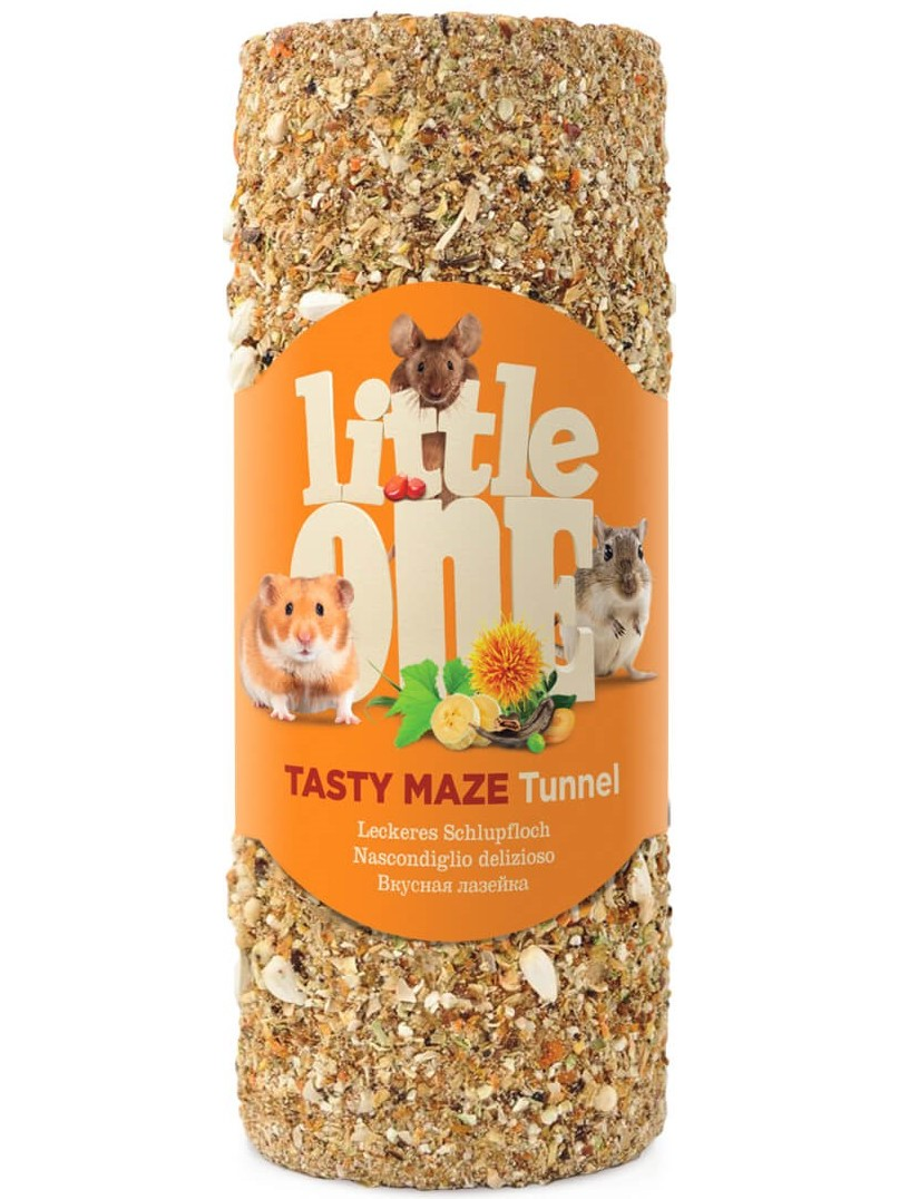 Little One Tunnel Small Delicious лазейка Dainty-toy For Rodents (120g)