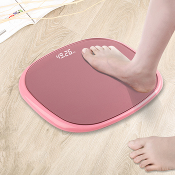 Bathroom Body Scale Weight Scales Smart Electronic Scales Bath Scale Toughened Glass LED Digital Household Weighing Scales vogvigo 150kg bathroom body fat bmi scale digital human weight mi scales floor lcd display body index electronic scales