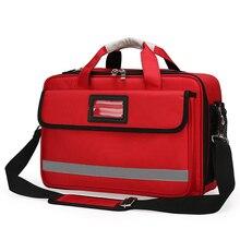 Первая помощь медицинская сумка открытый аварийно-спасательных мешок большой емкости пустой водонепроницаемый мульти-карман спорт путешествия нейлон сумки