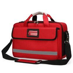Premiers secours sac médical en plein air secours d'urgence grande capacité sac vide étanche multi-poche sport voyage sacs en Nylon