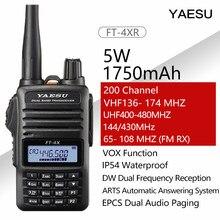 Yaesu FT-4XR handheld walkie talkie banda dupla multi-função transceptor de rádio em dois sentidos nova liberação