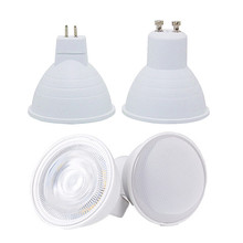 GU10 MR16 Led Bulb Spotlight 12V 110V 220V Natural Light Nature White 4000k Cool White 6500k Warm White 3000k Dimmable Cob Lamp