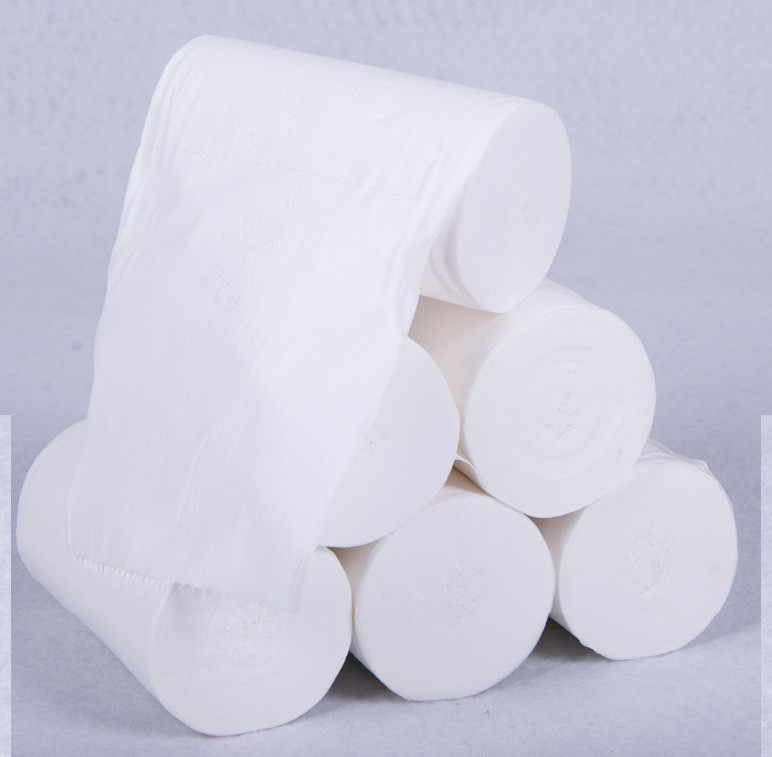 12pcs Roll Paper Tissue Paper Roll 4 Layer Thickened Household Paper Soft Pumping Paper Baby Soft Paper Towels #33