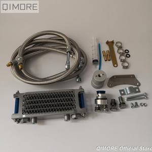 Image 1 - Комплект масляного радиатора/комплект масляного радиатора для 4 тактного китайского скутера GY6 50 125 150 139QMB 152QMI 157QMJ