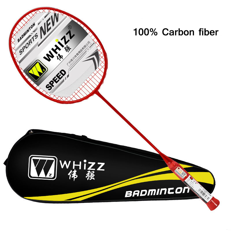 5U Professional Badminton Racket Set Carbon Fiber 22-28lbs Ball Control G4 Badminton Racket Sports Training Racquet With Bag