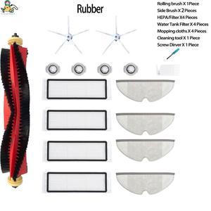 Image 1 - עיקרי רולר מברשת מטליות לנגב HEPA מסנן מברשות לxiaomi Roborock S5 מקס S6 טהור S50 S55 1S E25 ואקום אביזרים לניקוי