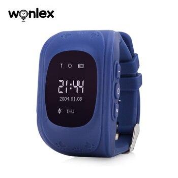 Умные часы Wonlex Q50 для детей, GPS трекер, 2G, для улицы, школы, анти-потеря, монитор местоположения, наручные часы для маленьких мальчиков и девоче...