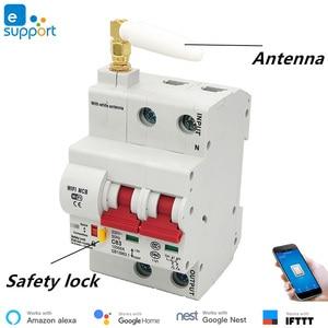 Image 3 - 25A eWeLink WiFi Smart Circuit Breaker Automatic Switch overload short circuit protection , work with Amazon Alexa Google home