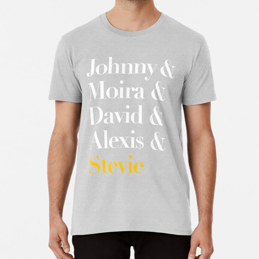 Schitt's Creek T shirt schitts creek david rose alexis rose johnny rose moira rose stevie stevie