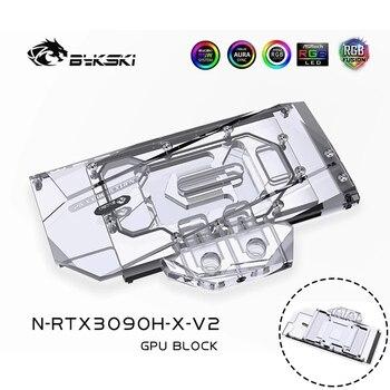 Bykski Grafikkarte Wasser Block Für ZOTAC Palit Inno3D GALAX BUNTE Gründer Edition RTX 3090 3080 GPU Wasser Kühler