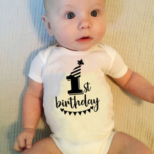Outfits First-Birthday-Jumpsuit Body Baby-Boys-Girls Clothing Short-Sleeve Newborn Infant