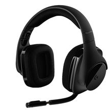 Logitech G533 Nirkabel DTS 7.1 Surround Sound Gaming Headset Nirkabel Headphone Aksesoris Komputer untuk Game(China)