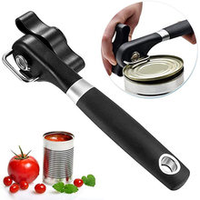 2021 New Cans Opener Kitchen Tools Professional Handheld Manual Stainless Steel Topless Can Opener Side Cut Manual Jar Opener