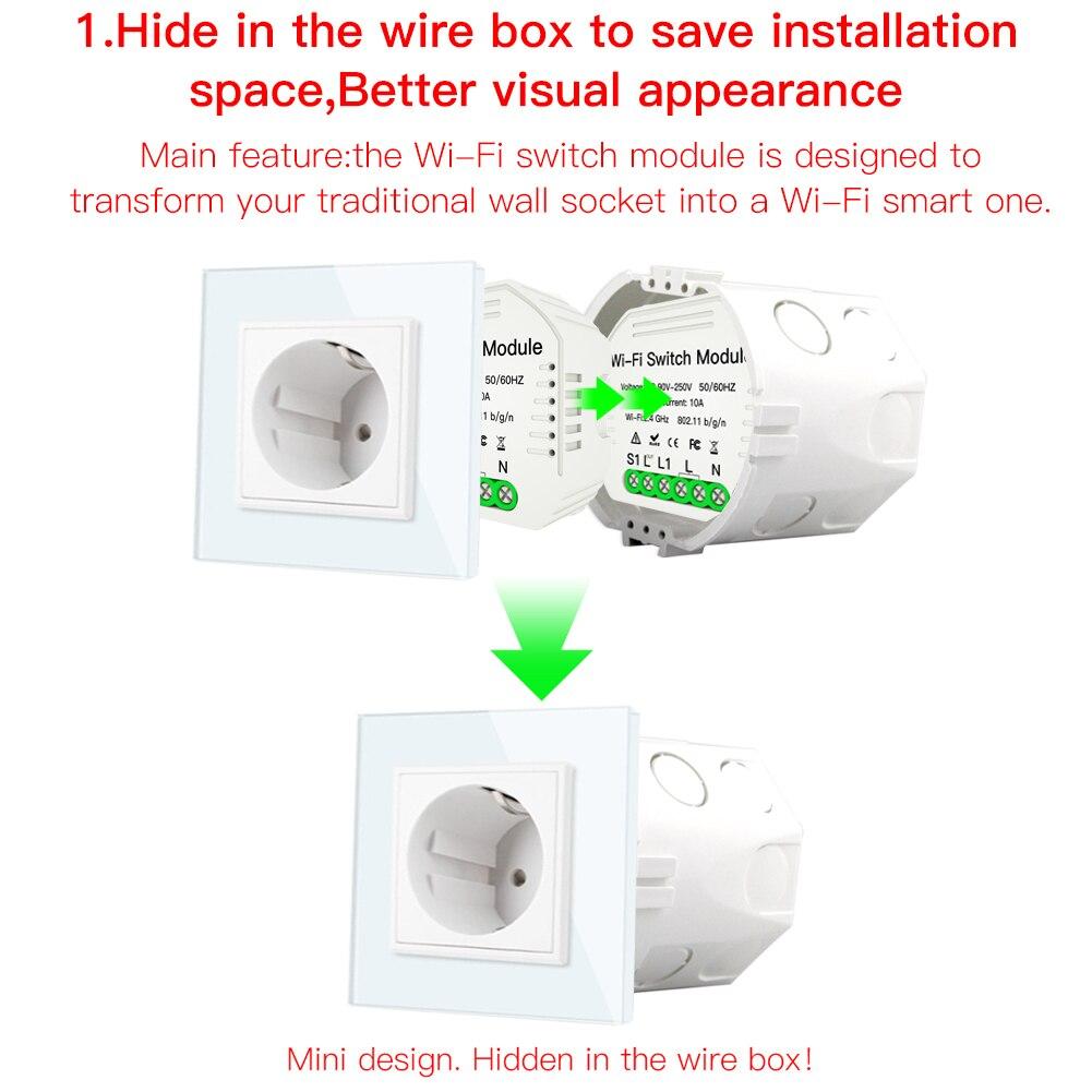 Ultimate Sale╠Relay-Module Smart-Light-Switch Remote-Control Wifi Google Home Wireless with Alexa Echo