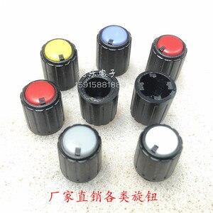 Мини-потенциометр, ручка аудио, регулятор громкости, роторный датчик, маленькие ручки (в упаковке 10 шт.)