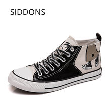 siddons Bangtan Boys Low Tops Shoes JUNG KOOK JIMIN V Suga Women Casual Shoes Ship From US Dropping Shipping(China)