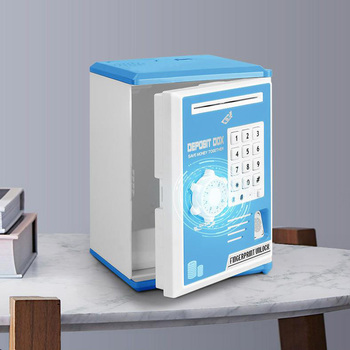 Portable Safety Box Mini Piggy Bank and Security Money Jewelry Storage Collection Home Office Security Storage Box DHZ0037