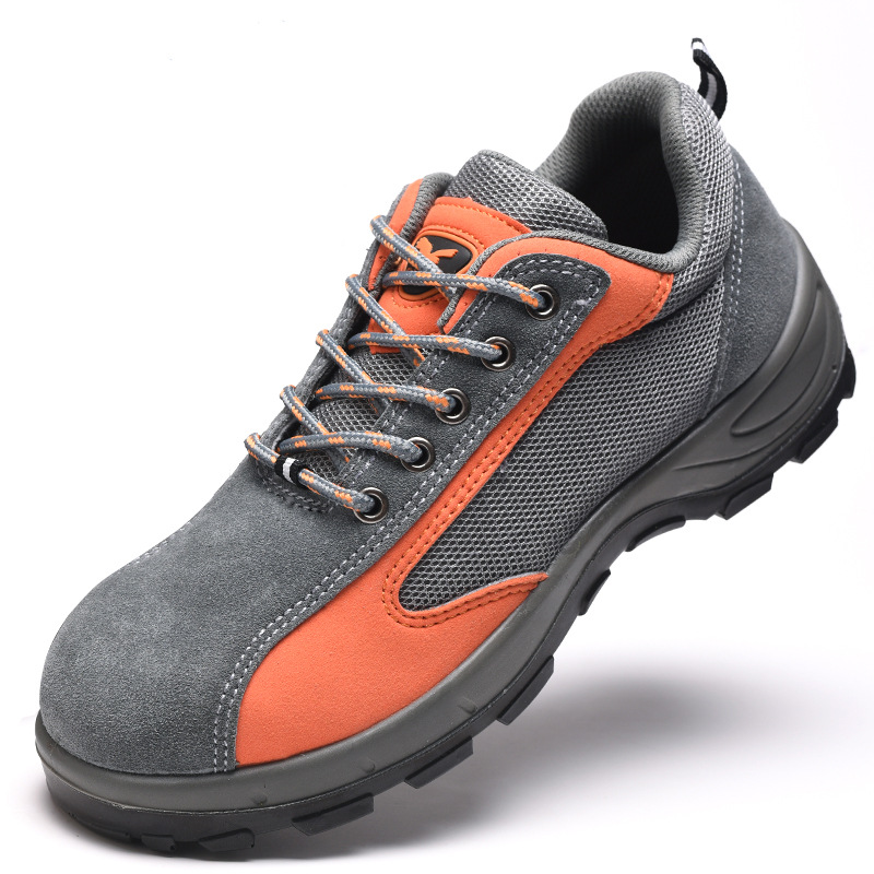 Supply Casual Safety Shoes Polyurethane Pu Solid Bottom Steel Top Safety Shoes Anti-smashing And Anti-penetration Breathable