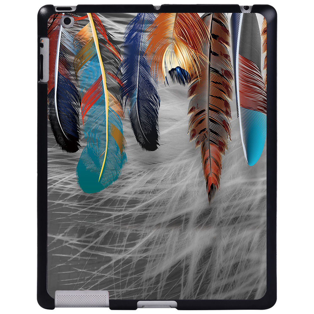 cocktail feather Green For Apple iPad 8 10 2 2020 8th 8 Generation A2428 A2429 tablet PC Plastic Printed