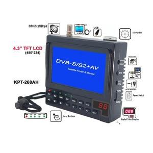 Image 2 - KPT 268AH DVB S2 Satfinder Volle HD Digital Satellite TV Empfänger Finder Meter MPEG 4 DVB S Sat Finder KPT 356H SATLINK WS 6933
