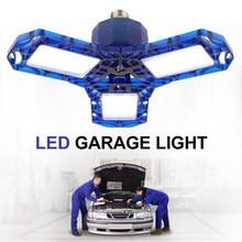 LED Garage Licht 60W 40W Industrielle Lampe E27 85V-265V Hohe Helligkeit Verformbaren Drinnen LED hohe Bay Werkstatt Lager Lichter