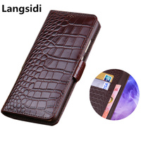 Business Wallet Phone Case Genuine Leather Phone Bag For Samsung Galaxy S9 Plus/Samsung Galaxy S9 Flip Wallet Case Cards Holder