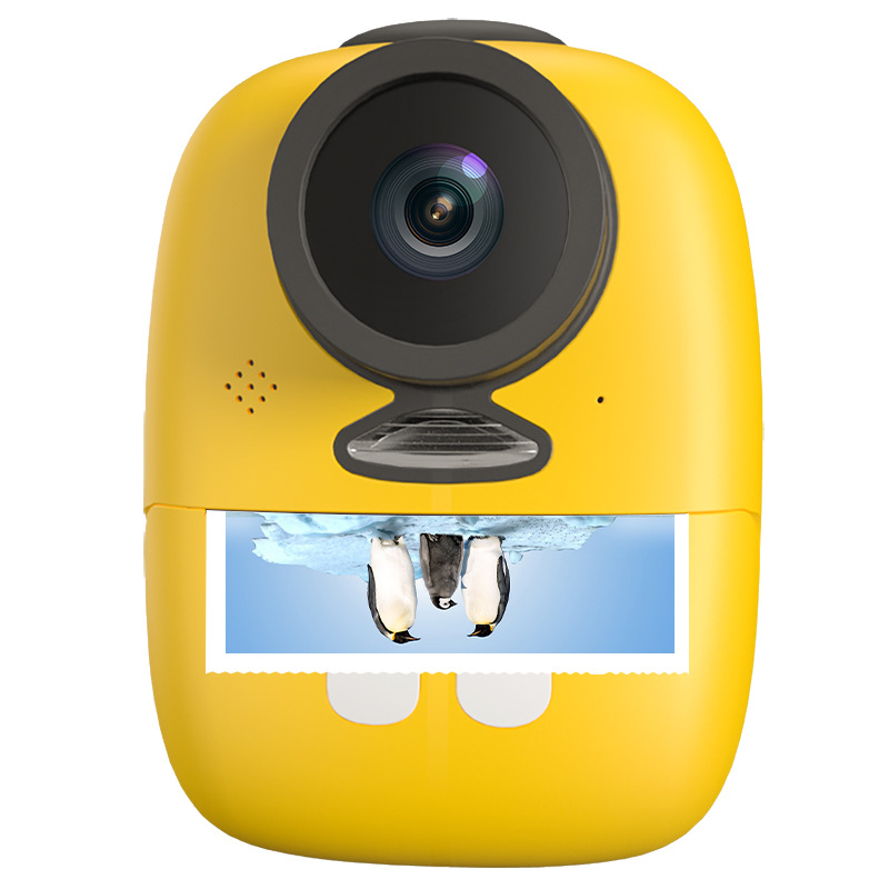 Children Mini Cute Digital Camera Toys Photo Printing Suit Small Instant Camera Instant Photo Printer Toy Video Recorder