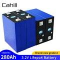 Аккумуляторная батарея 3,2 В Lifepo4 280Ah, новый класс А, перезаряжаемый аккумулятор 12 В 290ah для RV PV «сделай сам», система хранения солнечной энерги...
