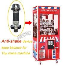 Dispositif anti-vibration pour maintenir l'équilibre, pour flipper,machine de jeu d'arcade, appareil à grue jouet, en forme d'arrache-clou, distributeur automatique,