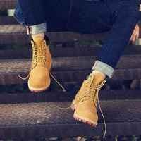 Nowych mężczyzna kostki buty prawdziwej skóry mężczyzna Martins buty męskie sznurowane buty zimowe na co dzień duży rozmiar wysokiej góry pluszowe buty rozmiar 36 47