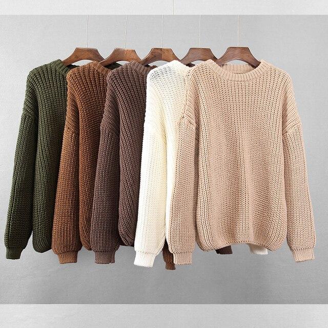 Hirsionsan Loose Autumn Sweater 4