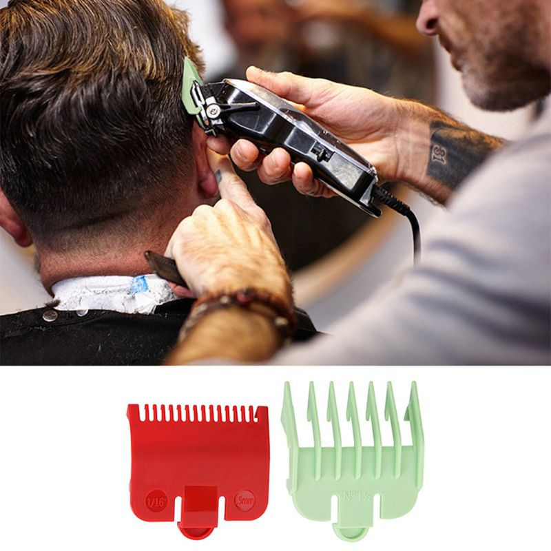 2pcs Professional Cutting Guide Comb Hairdressing Tool 1.5mm 3mm Set