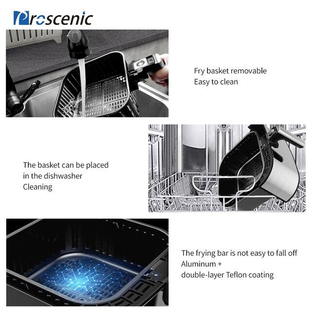 Proscénic T21 Smart 5.5L Friteuse sans huile connect 4