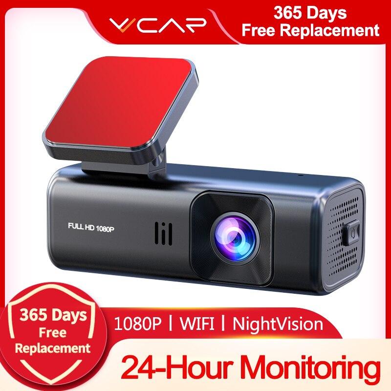 Автомобильный видеорегистратор VVCAR D135 с камерой Full HD 1080P и Wi-Fi