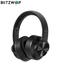 BlitzWolf BW-HP2 Bluetooth V5 0 Headphones Wireless Headset 50mm Driver Touch Control Foldable Over-Ear Gamer Headset with Mic cheap Dynamic CN(Origin) 1083dB For Internet Bar for Video Game Common Headphone For Mobile Phone HiFi Headphone Sport User Manual