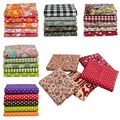 25*25cm /Pc Vintage Printed Patchwork Fabrics Doll Handmade Accessories Floral Cotton Fabrics For DIY TJ0537-2