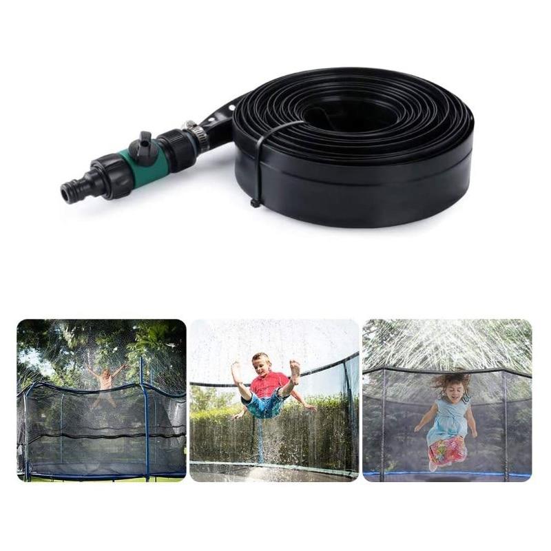 L:20M Tomatoa Trampolin Sprinkler Trampolin Sprinkler Spielzeug Trampolin Spray Wasserpark Spa/ß Sommer Outdoor Gartensprinkler Trampolin Zubeh/ör F/ür Kinder