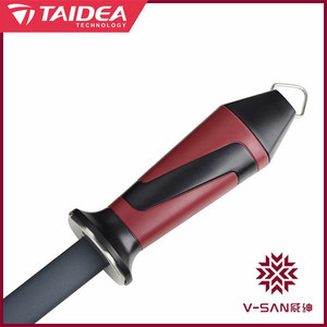 Image 3 - Taidea V SAN Deluxe siyah kristal seramik bileme çelik bileme çubuk bıçak kalemtıraş mutfak gereçleri Dropshipping TV1703