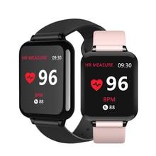 B57スマート腕時計防水スポーツiphone電話スマートウォッチ心拍数モニター血圧機能女性の男性の子供
