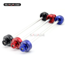 Rear Wheel Axle Fork Protector For YAMAHA MT 07 MT07 MT-07 FZ07 XSR700 Motorcycle Accessories Slider Swingarm Spools Stand Screw for yamaha mt07 mt 07 mt 07 motorcycle stands screws swingarm spools slider 6mm swing arm sliders swingarm spools stand screws