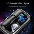 Bluetooth 5 0 беспроводные наушники Сбалансированные Bluetooth наушники водонепроницаемые спортивные стерео звуковые наушники зарядная коробка