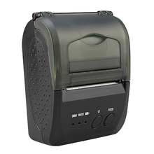 Printer Ticket Bluetooth Mini Portable 58mm with 2000MAH Battery/Ticket/Us-plug/ZJ-5809