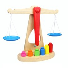 Children's Educational Toys Wooden Simulation Balance Toy Children's Educational Balance Toy Early Educational Toys 18pcs balance chairs toys stacking chairs plastic blocks balance toy early educational toys for kids interactive challenge game