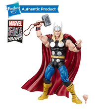 Hasbro Marvel Comics 80th Anniversary Legends Series 6-Inch-Scale Vintage Comic-Inspired Thor Collectible Action Figure цена и фото