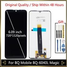 цена на Tested LCD For BQ Mobile BQ-6040L Magic BQ6040L BQ 6040L BQ-6040L LCD Display Screen With Touch Screen Sensor Complete Assembly