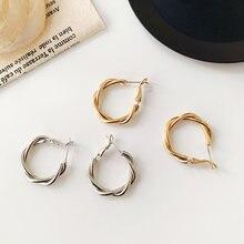 Модные маленькие круглые серьги для женщин Роскошные ювелирные