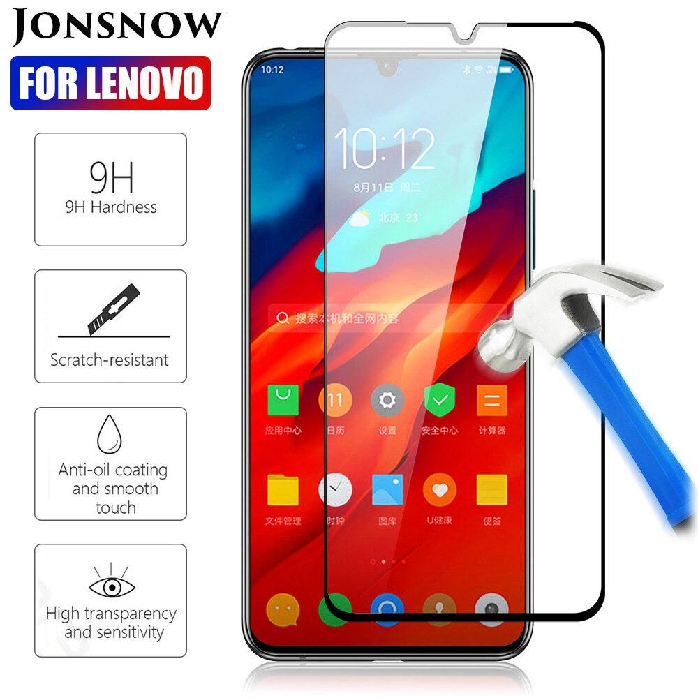 JONSNOW Tempered Glass For Lenovo A5 L18011 K5 Pro Full Screen Protector For Lenovo Z6 Pro L78051 Z6 Lite Protective 9H Glass